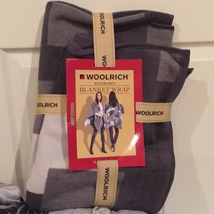WOOLRICH blanket wrap
